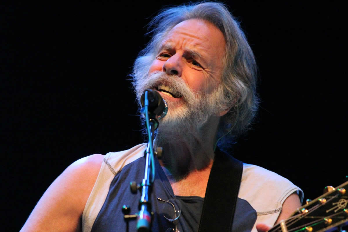 bob weir opens pdb show in mill valley ca jon pousette dart. Black Bedroom Furniture Sets. Home Design Ideas